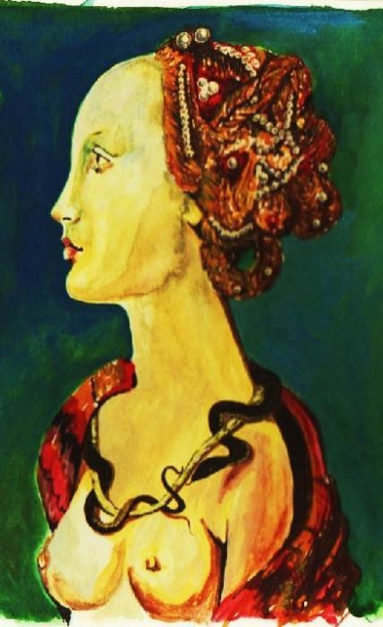 Simonetta Vespucci by CornelieStatiusM